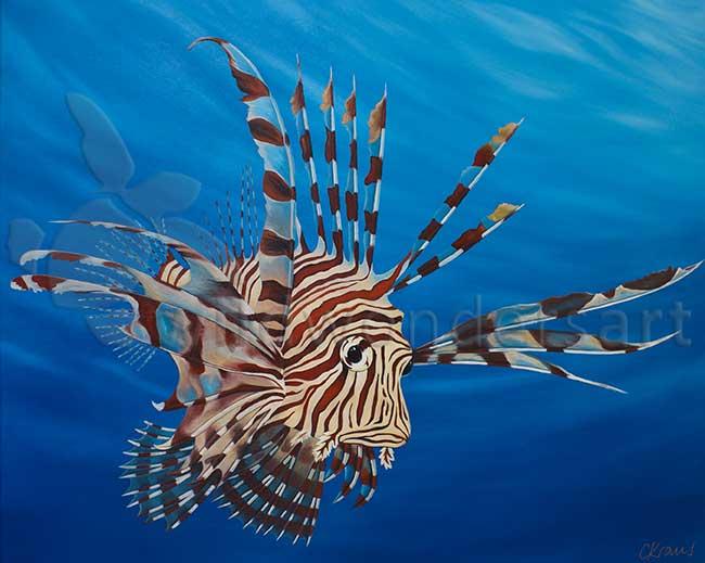 flamboyant-lionfish
