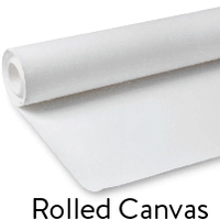 Rolled Canvas