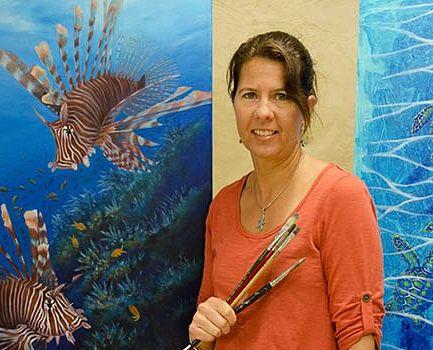 Ocean and Marine Wildlife Artist