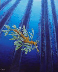 Leafy Seadragon with Eggs
